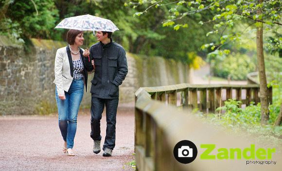 Engagement Shoot at Jesmond Dene